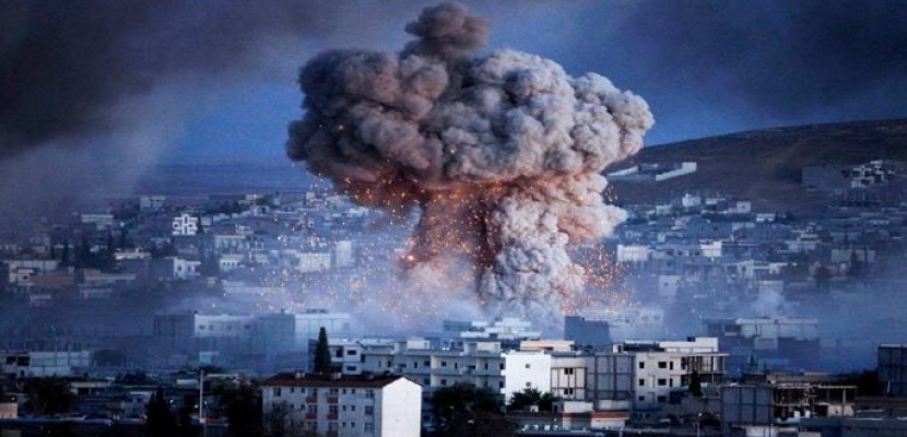 15 قتيلاً فى قصف جوى على ميليشيات موالية لإيران شرق سوريا
