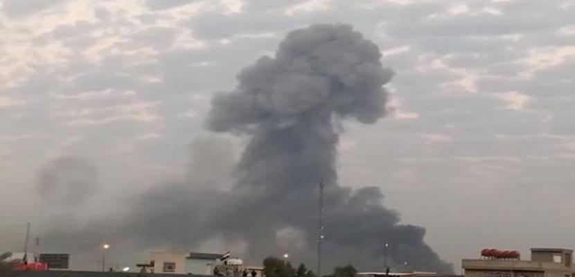 قصف يستهدف شمالي العاصمة بغداد