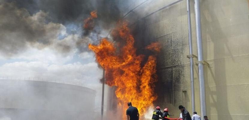 اندلاع حريق كبير بمحطة لتوليد الطاقة شرقي العاصمة الإيرانية طهران