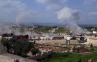 التنظيمات الإرهابية تعتدي بالصواريخ على قرية جورين بريف حماة في سوريا