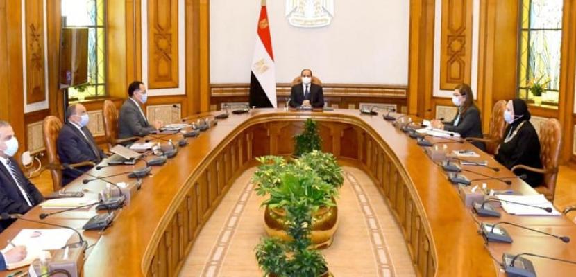 الرئيس يوجه بتخصيص ٥٠ مليون جنيه من صندوق تحيا مصر لصالح البرنامج الترويجي لتنمية الصعيد