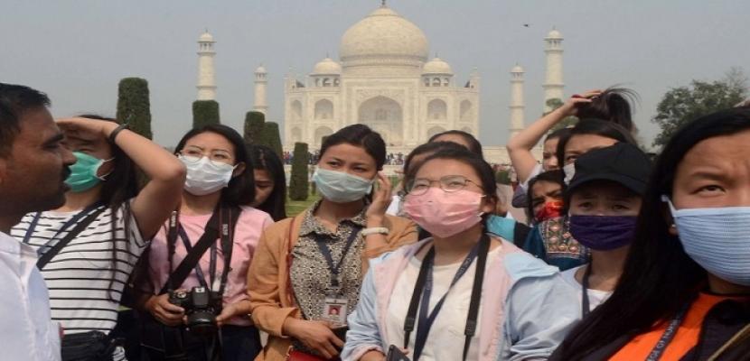 """الهند تعيد فتح """"تاج محل"""" وقلعة """"أغرا"""" بعد إغلاق 6 أشهر بسبب """"كورونا"""""""