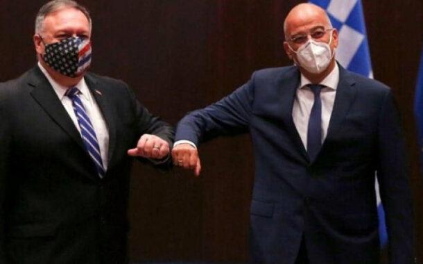 أميركا واليونان تؤكدان على حل أزمة التوتر في شرق المتوسط بالطرق الدبلوماسية