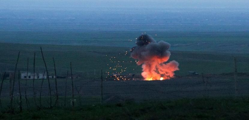 تواصل المواجهات فى ناجورنا كاراباخ وارتفاع الضحايا لنحو 100 قتيل .. واجتماع طارىء اليوم لمجلس الأمن