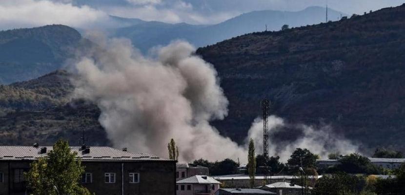 أذربيجان تقصف مواقع داخل اراضى أرمينيا .. و موسكو تدعو الى احترام وقف إطلاق النار