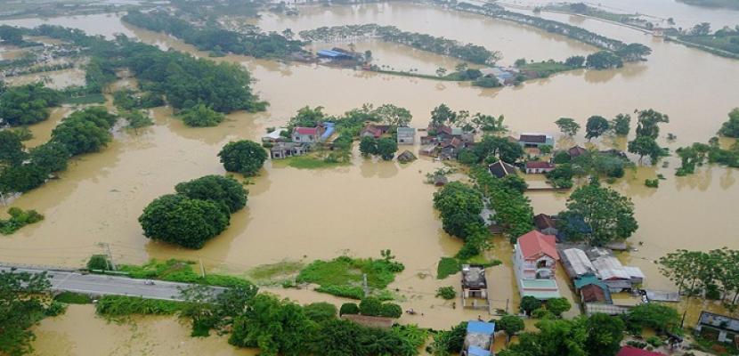 ارتفاع حصيلة ضحايا الفيضانات فى فيتنام وكمبوديا إلى 123