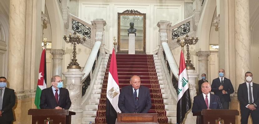 في ختام اجتماع آلية التنسيق الثلاثي.. توافق مصري عراقي أردني على حفظ الأمن العربي ومنع التدخلات