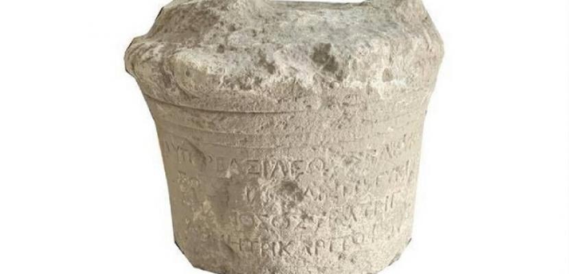 اكتشاف لوح حجري يعود إلى عهد الإسكندر الأكبر في العراق