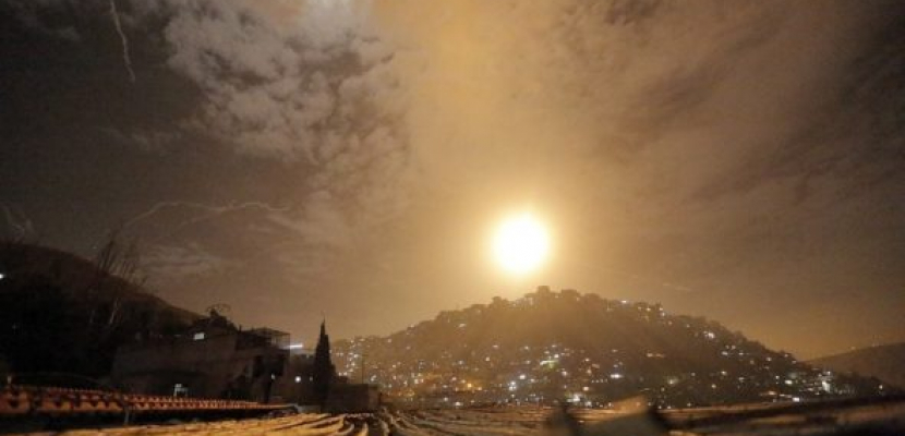 هجوم صاروخى إسرائيلى يستهدف موقعاً فى ريف القنيطرة جنوب سوريا