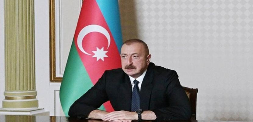 علييف: طائرات دون طيار أذربيجانية دمرت معدات أرمنية بقيمة مليار دولار في كاراباخ
