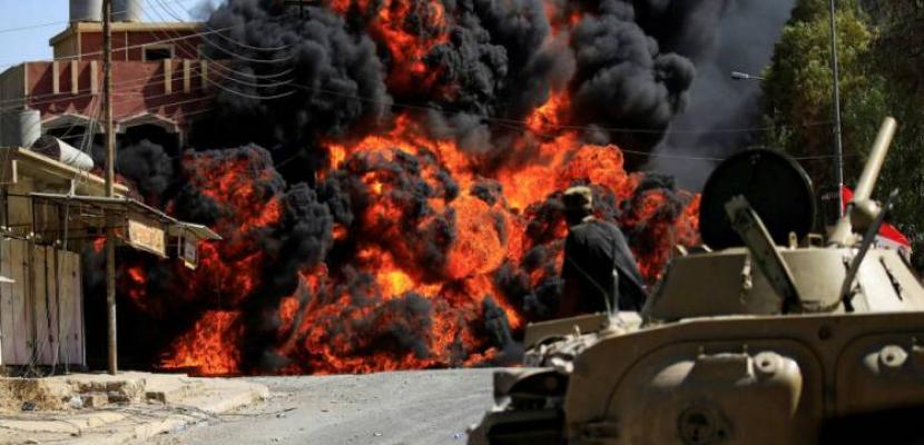 مقتل 15 مسلحا موالين لتركيا فى قصف روسى بـ إدلب