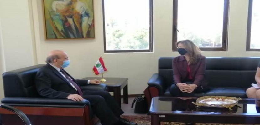 وزير الخارجية اللبناني يطلب أدلة فرض العقوبات الأمريكية على جبران باسيل
