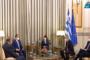 الرئيس السيسي يزور النصب التذكاري للجندي المجهول في أثينا