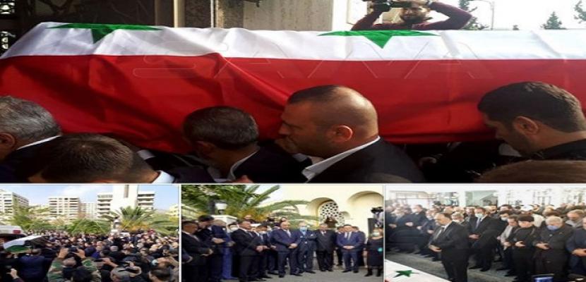 تشييع جنازة وزير الخارجية السورى وليد المعلم