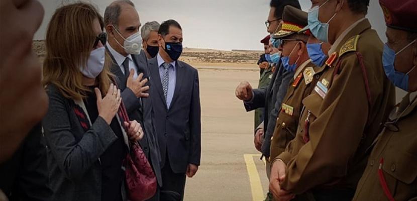 مبعوثة الأمم المتحدة تبحث في البريقة إعادة هيكلة حرس المنشآت النفطية في ليبيا