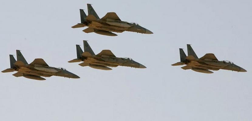 التحالف العربي يشن غارات على مواقع حوثية في صنعاء