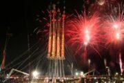 احتفالات رأس السنة.. عرض للألعاب النارية في تايوان