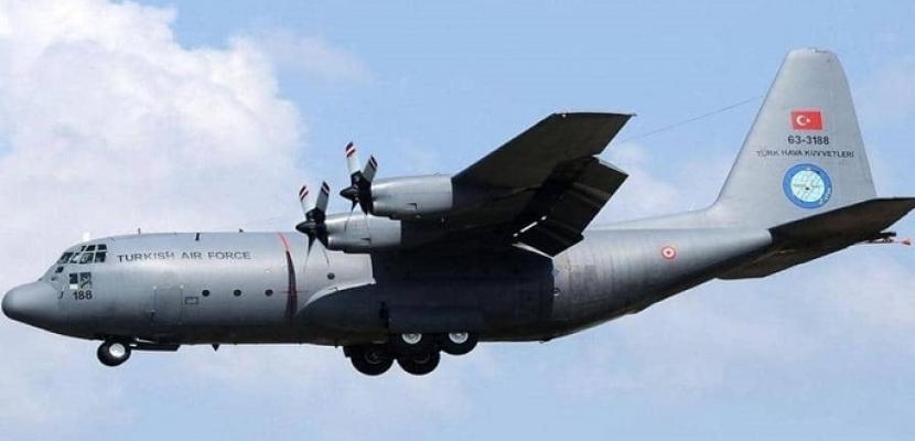 تركيا تؤجج الوضع في ليبيا.. طائرتا شحن عسكري تصلان قاعدة الوطية غربي البلاد
