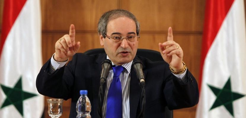 المقداد: الانتخابات الرئاسية بسوريا ستجري بموعدها ولا علاقة لها بعمل اللجنة الدستورية