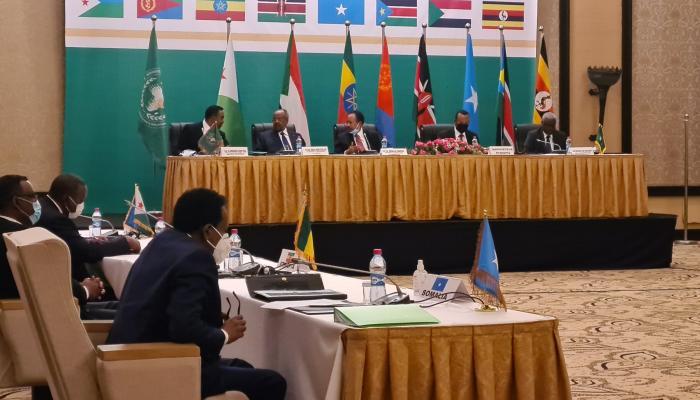 """آبي أحمد يدعو قادة دول الـ""""إيجاد"""" إلى التعاون لحل القضايا"""