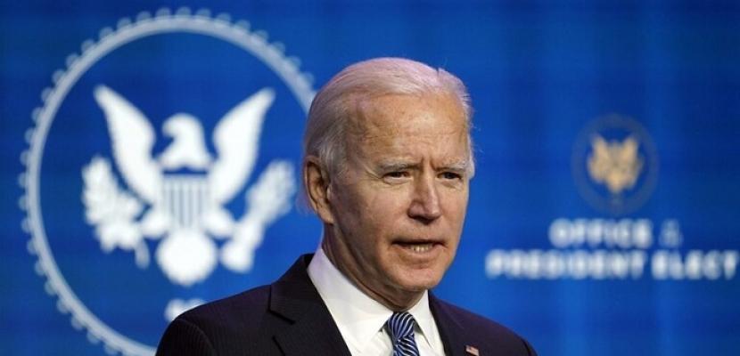 """أول خطاب لـ""""بايدن"""" بعد تنصيبه رئيساً لأمريكا"""