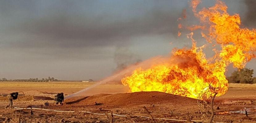 ناشطون سوريون : طائرة مسيرة مجهولة تقصف منشأة نفطية شمال سوريا