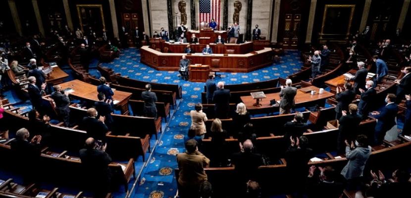 مجلس النواب الأمريكي يصوت بالأغلبية على قرار يدعو بينس لتفعيل المادة 25 لعزل ترامب .. ويستعد اليوم لمناقشة مساءلته
