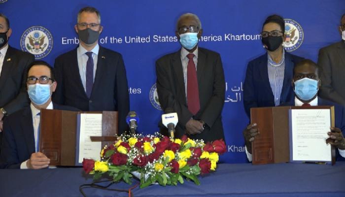 """السودان يوقع رسميا """"اتفاقية إبراهيم"""" للسلام مع إسرائيل"""