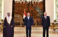 السيسي لرئيس البرلمان العربي : وحدة المواقف العربية تمكننا من وضع خطوط لصون أمننا القومي