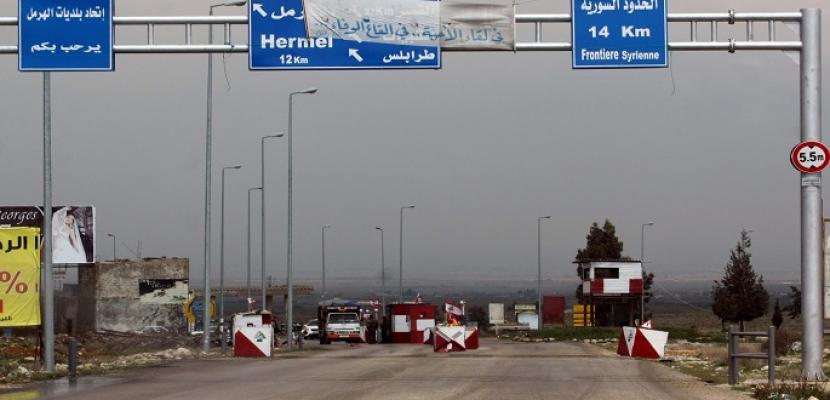 انفجار ثان لخزان وقود على الحدود اللبنانية السورية