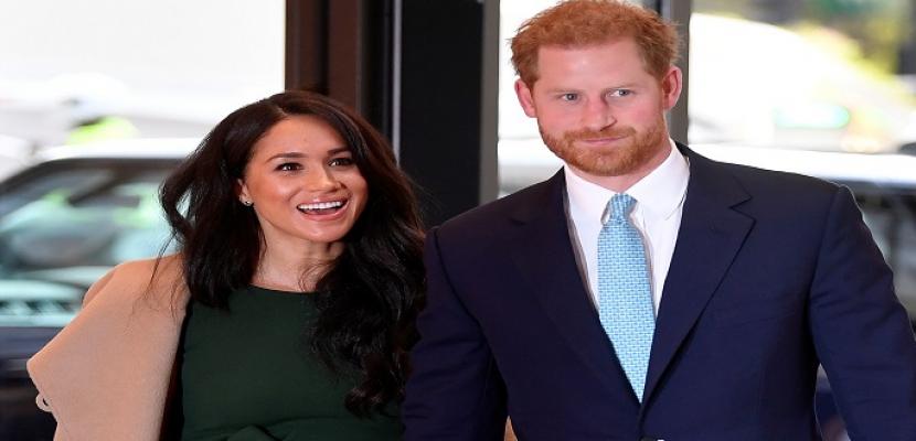 الأمير هاري وميجان ينتظران مولودهما الثاني