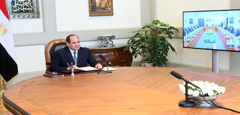 السيسي يؤكد أمام المنتدى العربي الاستخباري على أهمية العمل العربي الجماعي لاستعادة الاستقرار بالمنطقة