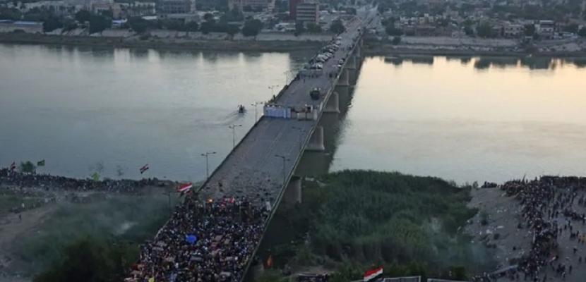 انفجار عبوة ناسفة استهدفت أحد الجسور شمال شرق بغداد