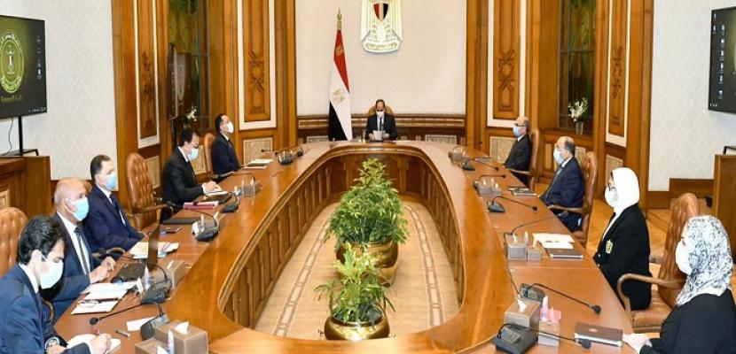 الرئيس السيسي يوجه باستكمال تحديث منظومة السكك الحديدية مع تعزيز معايير السلامة