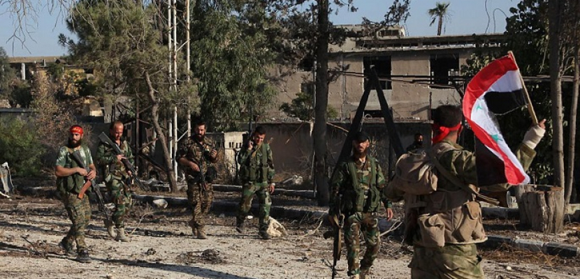 مقتل وإصابة عدة عناصر من الجيش السوري بهجوم إرهابي في ريف درعا الغربي