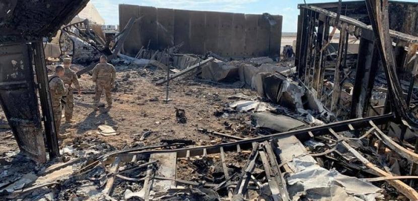 """هجوم صاروخي يستهدف قاعدة """"عين الأسد"""" التى تستضيف القوات الأمريكية غرب العراق"""