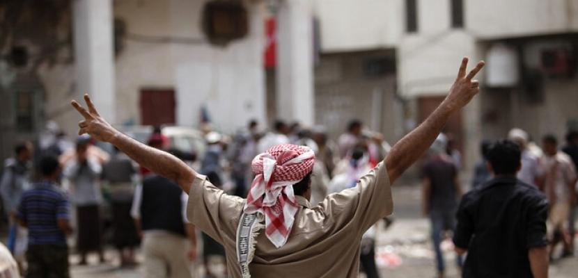 متظاهرون يقتحمون قصر المعاشيق الرئاسي في عدن