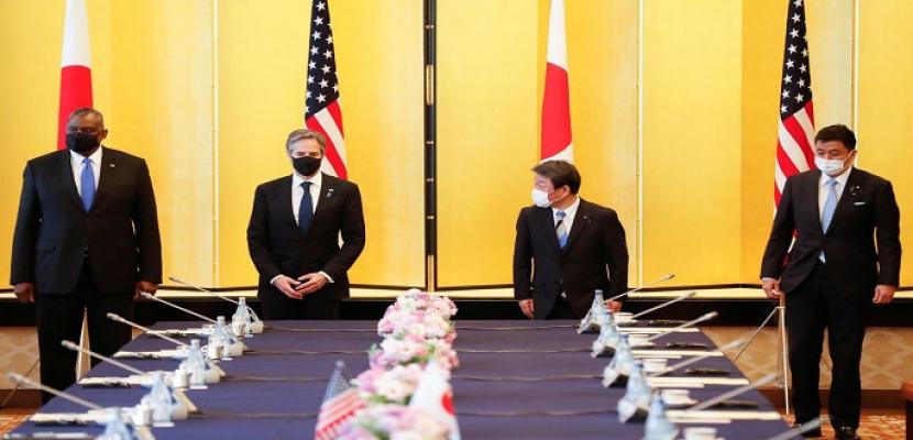 """الولايات المتحدة واليابان تحذران من سلوك الصين """"المزعزع للاستقرار"""""""