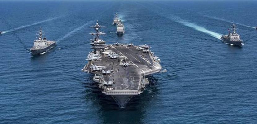 الأسطول الخامس للبحرية الأمريكية: مواجهة بين سفن إيرانية وأمريكية هي الأولى منذ عام