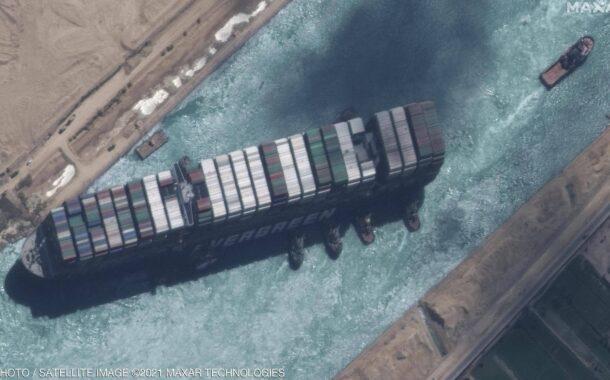 """مصر تبدأ إجراءات """"الحجز التحفظي"""" على السفينة """"إيفرغيفن"""""""