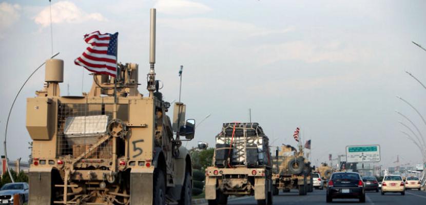 القوات الأمريكية تدخل 24 شاحنة محملة بأسلحة إلى قواعدها بريف الحسكة