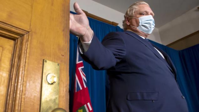 حكومة أونتاريو تعلن حالة الطوارئ وتلزم المواطنين البقاء في منازلهم