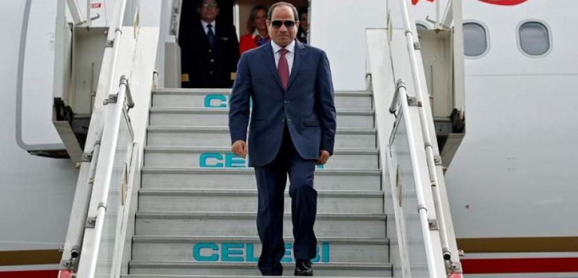 الرئيس السيسي يصل إلى باريس للمشاركة في مؤتمر دعم السودان وقمة تمويل الاقتصاديات الأفريقية