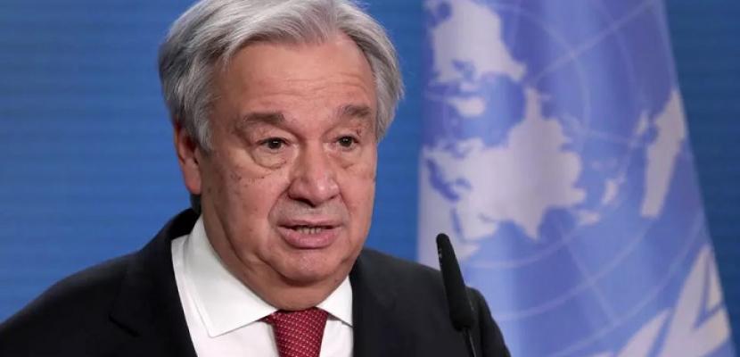 الأمين العام للأمم المتحدة يحث إسرائيل على وقف عمليات الهدم والإخلاء والالتزام بالقانون الدولي