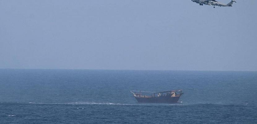 البحرية الأميركية تصادر سفينة أسلحة مصدرها إيران