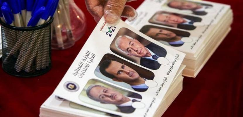 صمت انتخابي في سوريا قبل يوم من الانتخابات الرئاسية .. ومنافسة رمزية للأسد مع المرشحين الإثنين