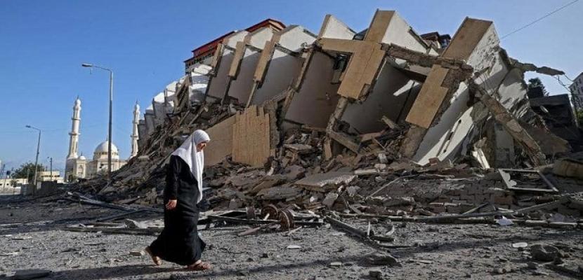 مقتل جندي إسرائيلي بصاروخ فلسطيني .. وارتفاع الضحايا الفلسطينيين إلى 48 قتيلاً