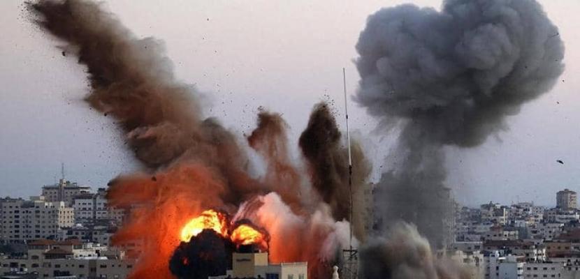 مقاتلات إسرائيلية تشن غارات على مناطق مختلفة شمالي مدينة غزة