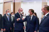 """ماكرون: أردوغان عازم على سحب المرتزقة من ليبيا """"في أقرب وقت"""""""