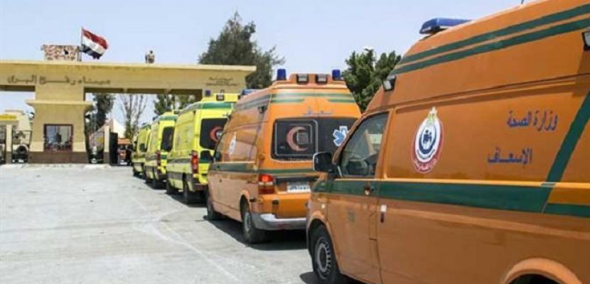 تواصل فتح معبر رفح لاستقبال المصابين وإدخال المساعدات لغزة لليوم الـ17